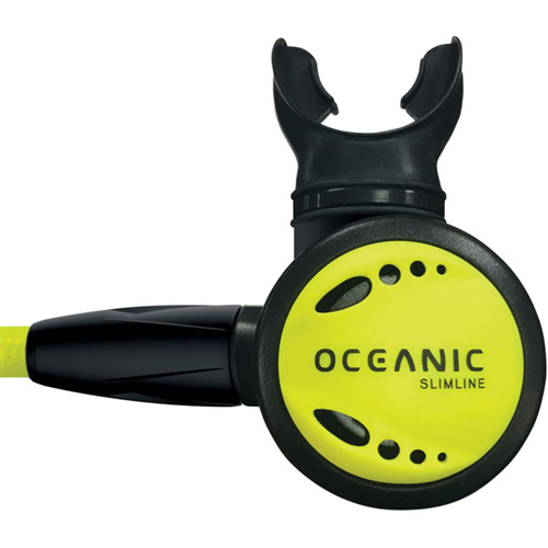 Oceanic Slimline 3 Octopus, Yellow